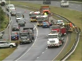 CRash on Route 9 in Middletown