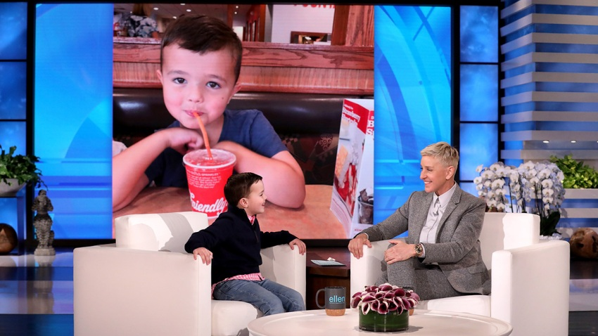 The Shirley Temple King on Ellen
