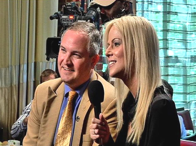 "Michaele and Tareq Salahi Interviewed for ""Q&A Cafe"""