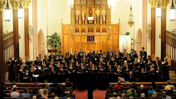 Sandy Hook Elementary School tragedy chorale concert