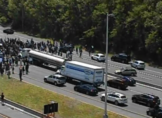 Protesters Close Highways Down Across The State Rallies Push For Change Call For Justice Nbc Connecticut