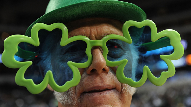 Shamrock-glasses
