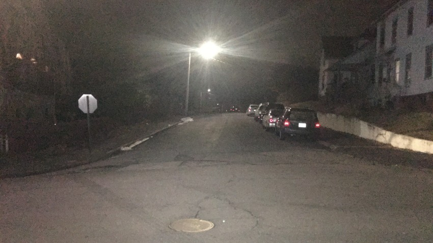 Police scene on Wakelee Avenue in Ansonia
