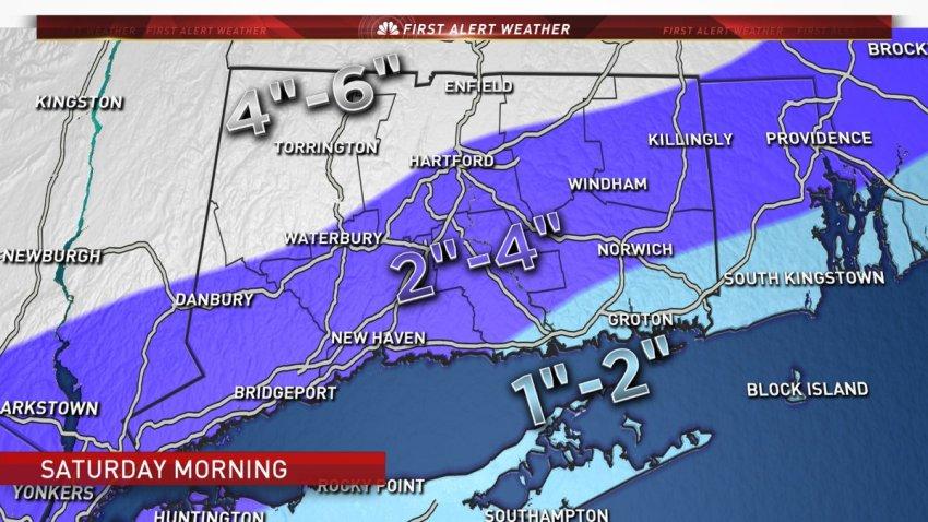 Snow map Dec 16