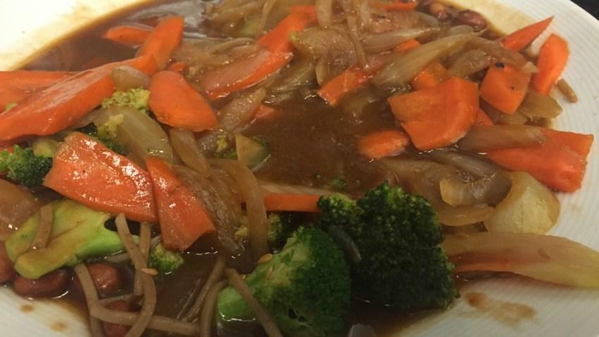 Soba Noodle Stir Fry 1200