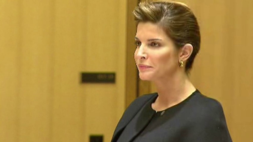 Stephanie Seymour appears in court