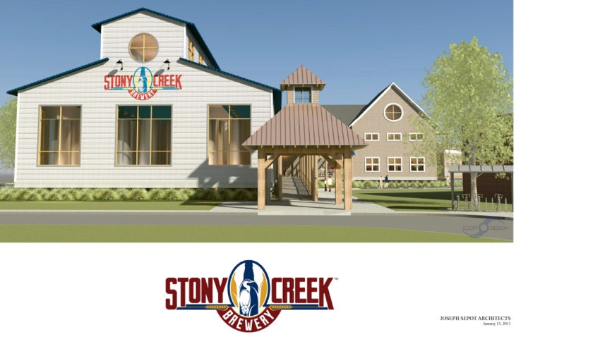 Stony Creek Brewery entrance low res1200