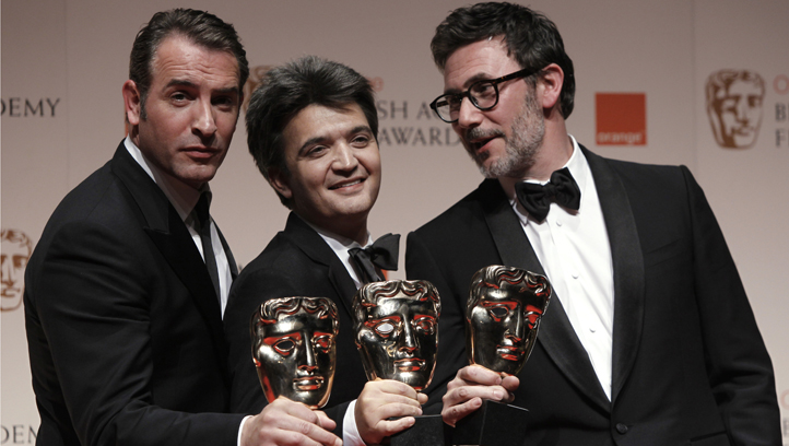 APTOPIX Britain BAFTA Film Awards 2012 Winners Room