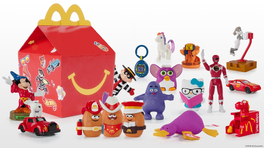 Throwback Happy Meal Toys 110419