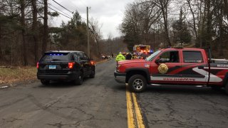 Emergency crews in Avon after vehicle rollover