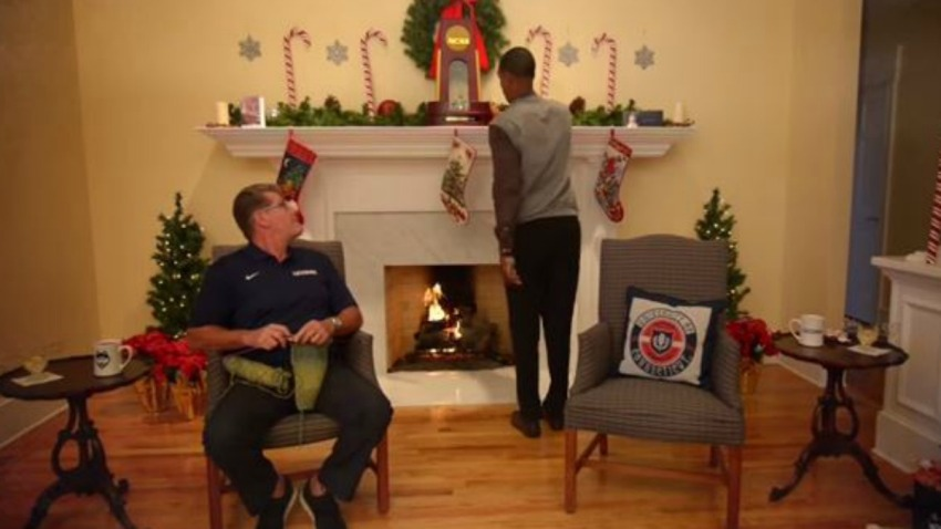 UConn holiday video