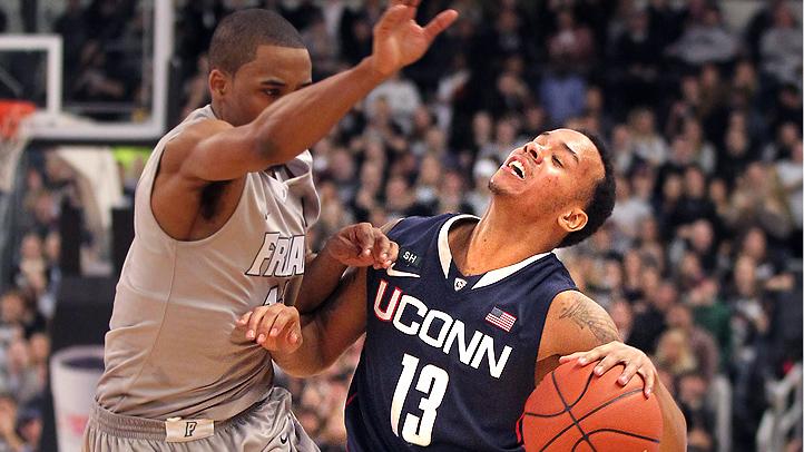 UConn Providence Basketball Napier