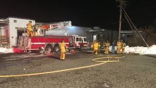 VERNON STRIP MALL FIRE