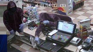 Surveillance photos of Vernon robbery