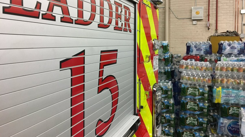 Waterford fire water collection