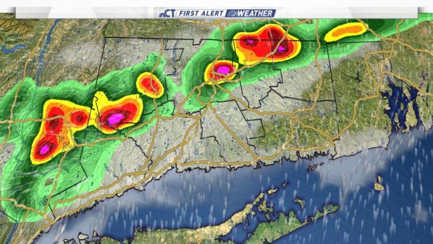 Wednesday rain impacts