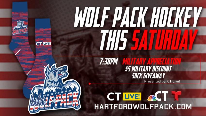 Wolf Pack Military Appreciation Socks