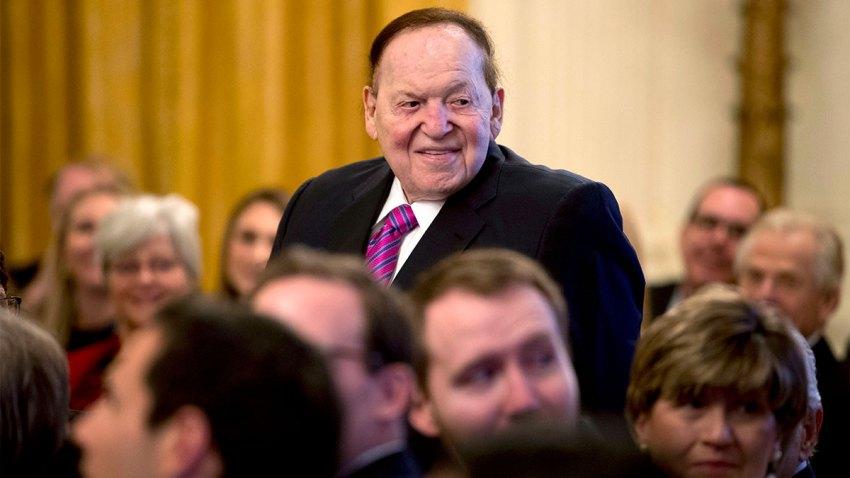 Sheldon Adelson Health