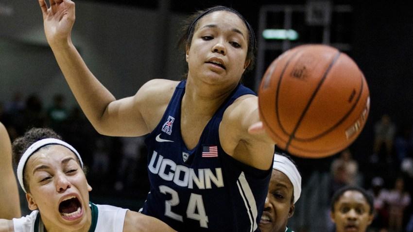 UConn Tulane Basketball