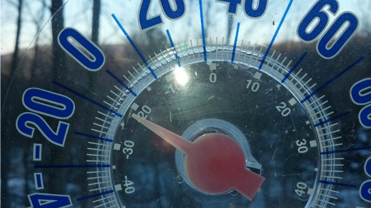 bitter cold thermometer
