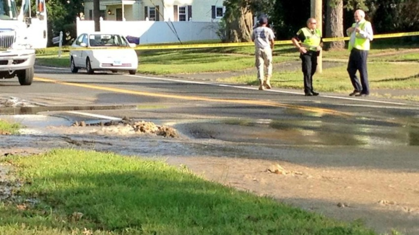 bloomfield water main park ave