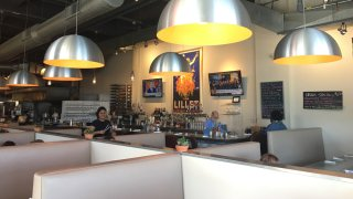 customers at the blue plate kitchen in west hartford