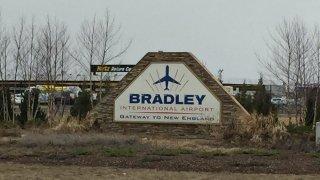 bradley airport generic sign