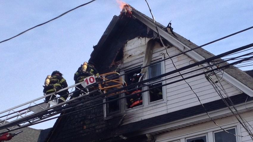 bridgeport 3 family fire