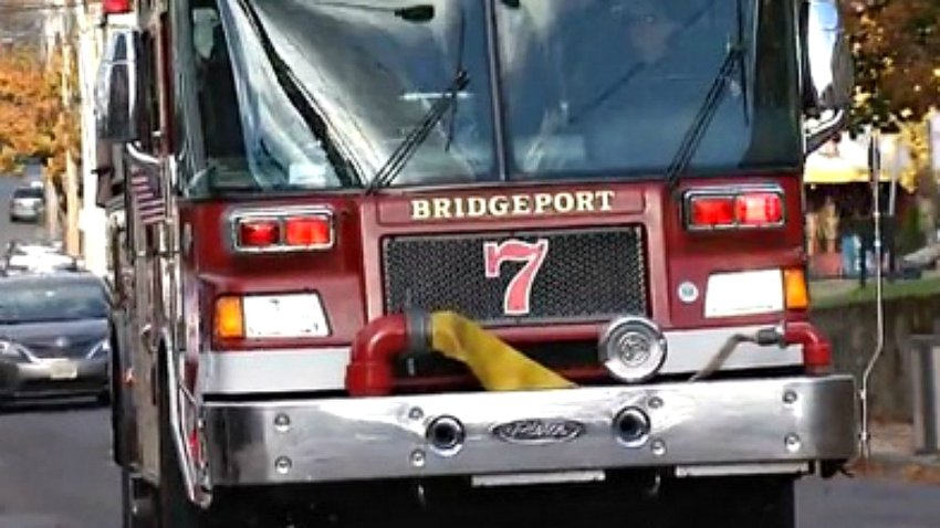bridgeport fire truck