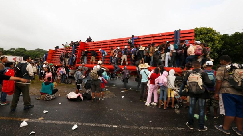 Mexico Central America Migrant Caravan