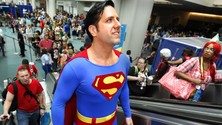 2012 Comic Con Atmosphere