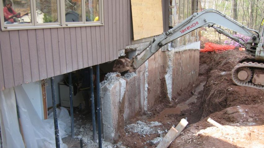 crumbling foundation troubleshooters