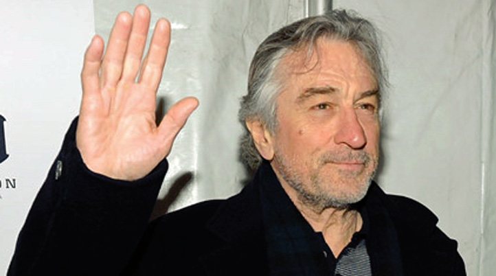 deniro hand waving