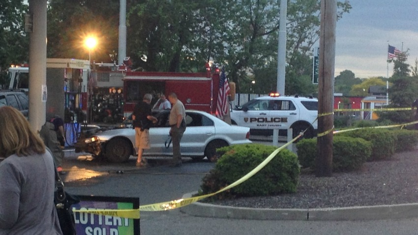 east haven car fire