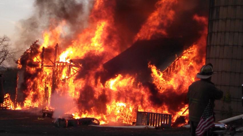 east windsor barn fire paul shaw