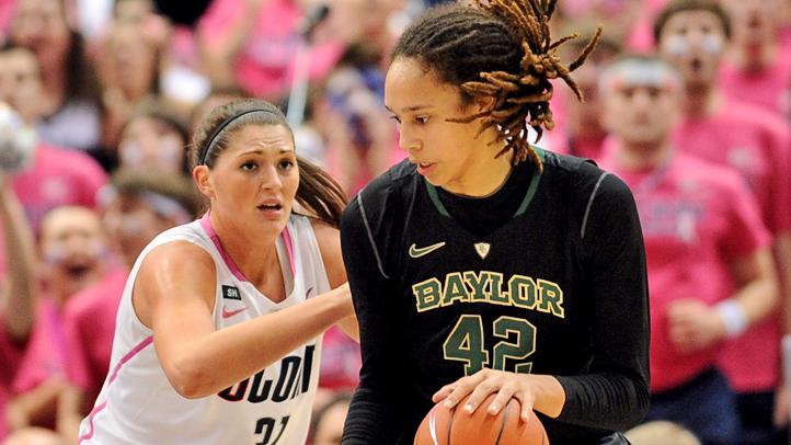 NCAA Womens Basketball 2013: Baylor vs Connecticut FEB 18