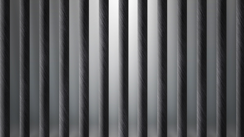 Empty Prison Cell Background