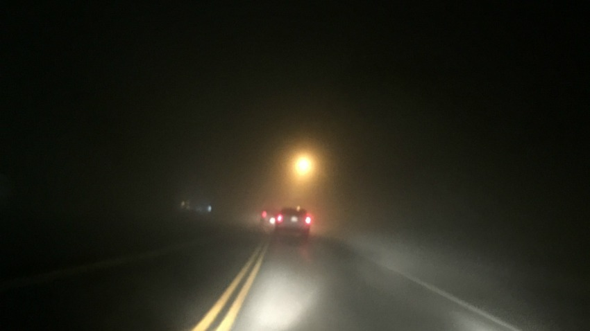 foggy andover