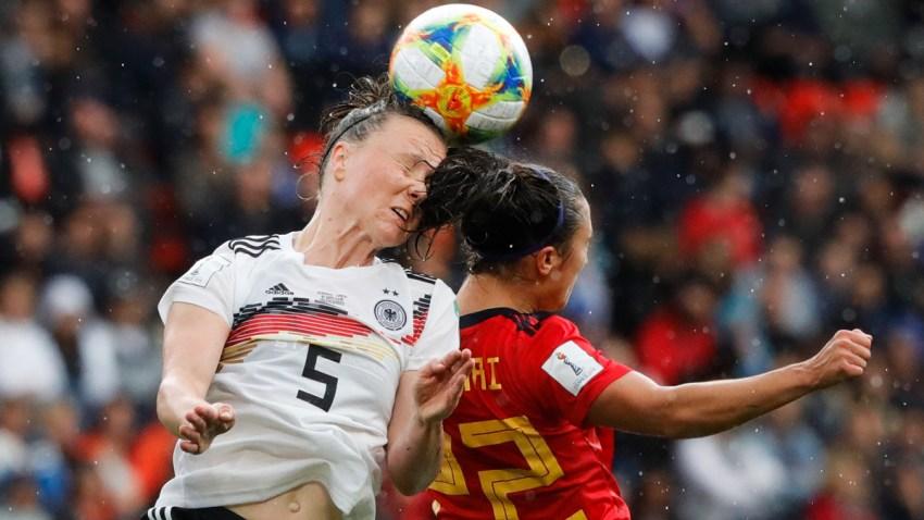APTOPIX France Spain Germany WWCup Soccer