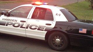 hamden police car