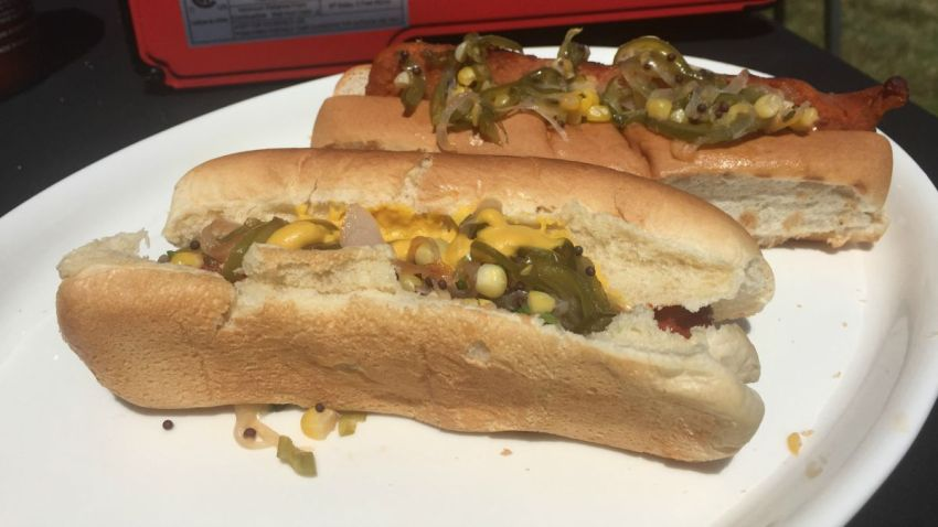 hot dog corn relish