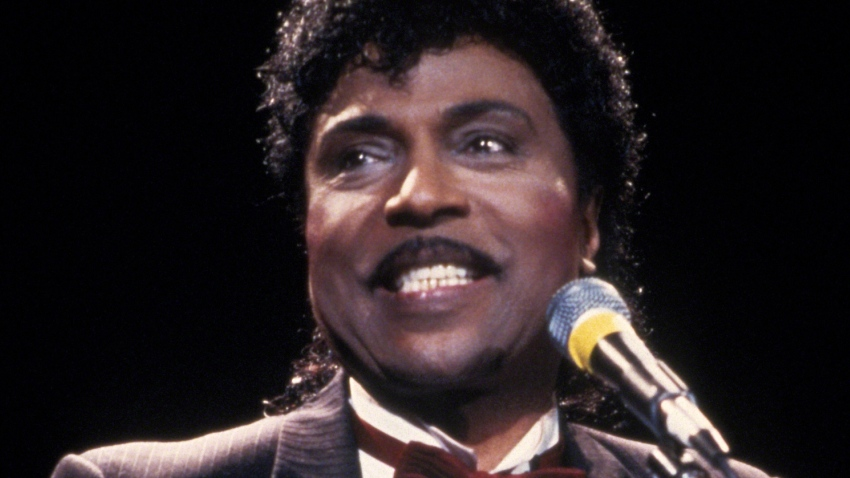 Little Richard at the 1988 Rock n Roll Hall of Fame Induction Ceremony circa 1988 in New York City