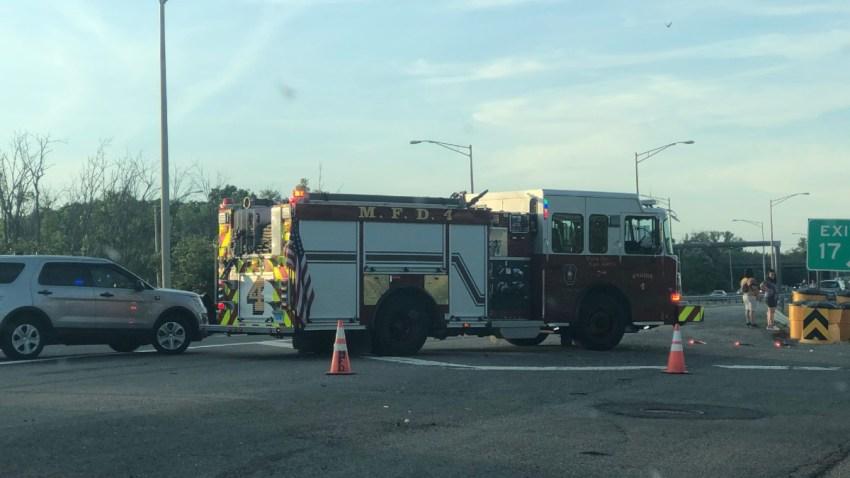 Fatal crash on Interstate 91 in Merident