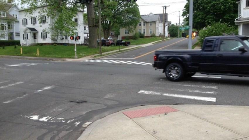 meriden pregnant pedestrian accident