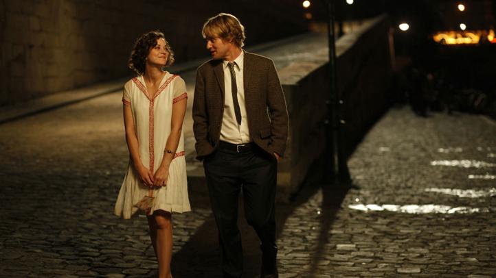 Midnight in Paris - Corey Stoll, Marion Cotillard, Tom Hiddleston, director Woody Allen