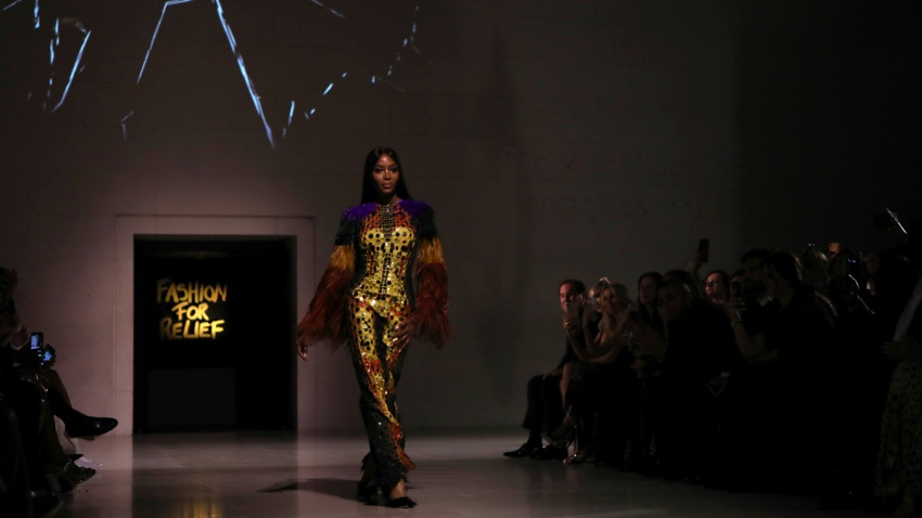Britain Fashion For Relief 2020 Show