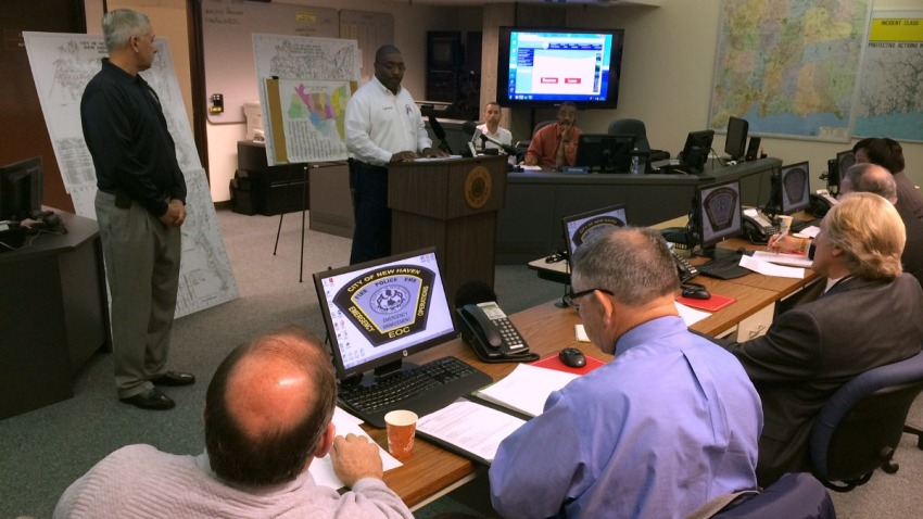 new haven emergency drill