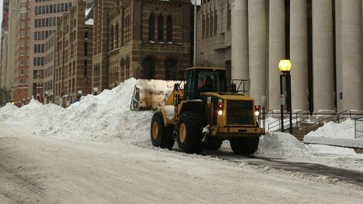 new haven payloader snow