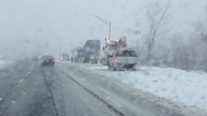 north haven snow highway