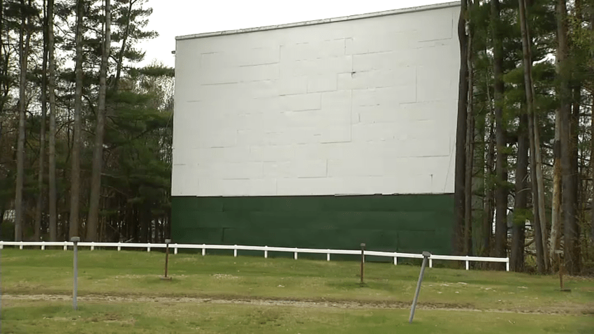 Northfield Drive-In Theater in Winchester, NH